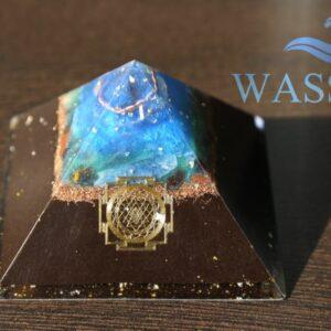 Wetteradler-Skalar-Pyramide-Wasser-12cm