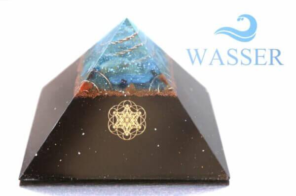 Wetteradler-Skalar-Pyramide-Wasser-16cm